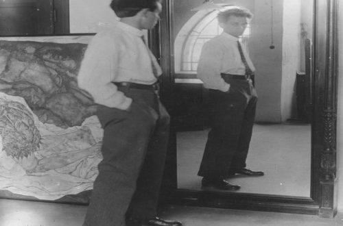 johannes-fischer-egon-schiele-in-front-of-mirror-in-his-hietzing-atelier-1915-2