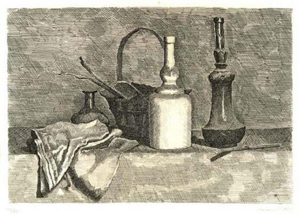 giorgio-morandi-natura-morta-con-panneggio-a-sinistra-1927-acquaforte-su-zinco