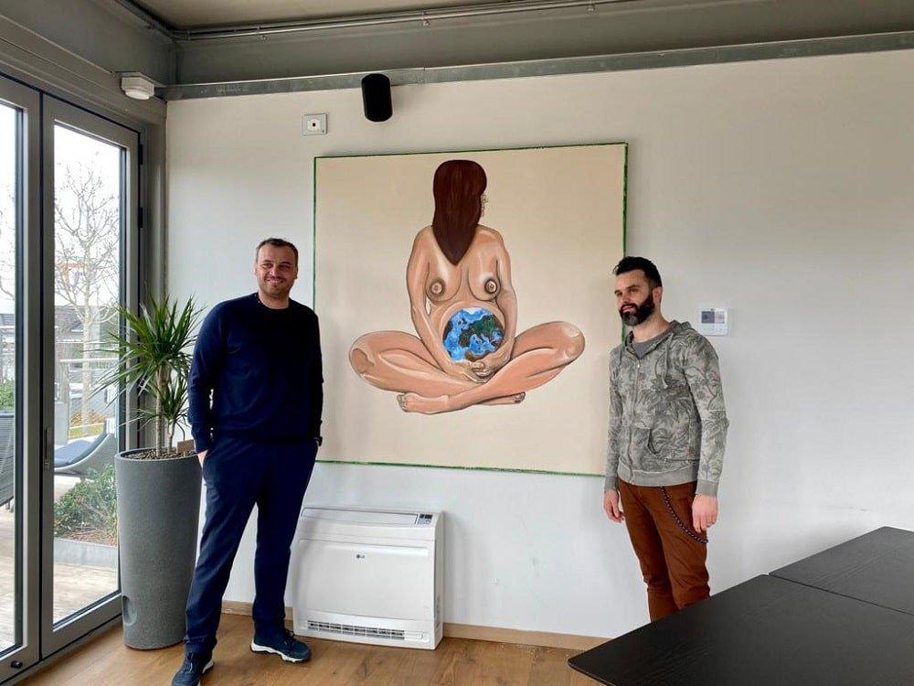 Matteo Fieno e Francesco Farinetti, AD di Green Pea-min
